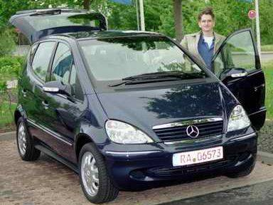 monatsbericht april 2003 langzeittest mercedes a elegance 170 cdi. Black Bedroom Furniture Sets. Home Design Ideas