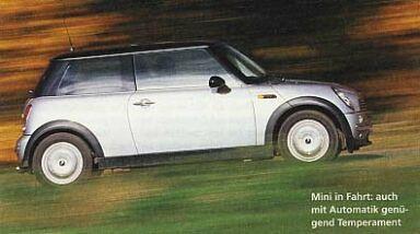 auto motor und sport nr 24 2002 langzeittest mini. Black Bedroom Furniture Sets. Home Design Ideas