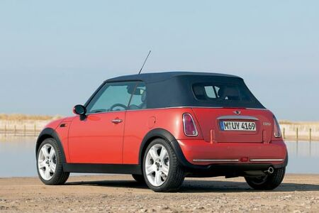 auto bild nr 7 2004 langzeittest mini cooper cabrio. Black Bedroom Furniture Sets. Home Design Ideas