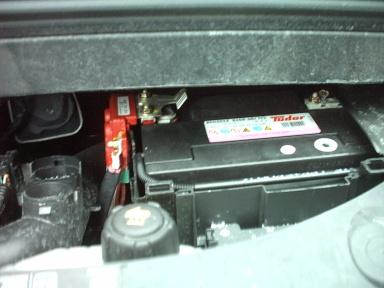 renault modus batteria